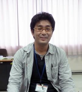 広島大学ナノデバイス・バイオ融合科学研究所 ナノテクノロジー支援室 研究員 佐藤旦さん