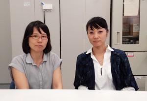 香川大学社会連携・知的財産センター ナノテクノロジー支援室中田智恵美さん・庄司聡子さん