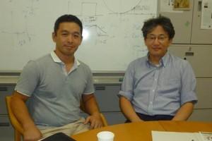 santec(株)諫本氏(左)と年吉教授(右)